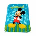 "Licensed Mickey Mouse 60"" x 80"" Royal Plush Mink Raschel Blanket - in 3 Styles"