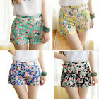 Women's Causual Floral Print High Waist Shorts Summer Shorts Sexy Hot Pants