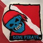 scuba patch diving equipment novelty  gift snorkel jacket beach DIVE PIRATE 747