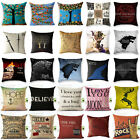 Game of Thrones Lord of the Rings Cotton Linen&Polyester Pillow Cover Cushion