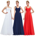 Stunning Women's Chiffon LONG Bridesmaid Evening Gown Party Prom Dress PLUS Size