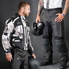 Motorbike Motorcycle Cordura Textile Jacket/Pants CE Approved Armours Camo