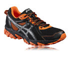Asics Gel-Sonoma 2 Mens Orange Black Cushioned Trail Running Shoes Trainers