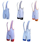 Zimco Air Plus Cycling Bib Short Cycle Bibs Bike Shorts Padded White 1001