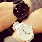 Unisex Men Women Casual Waterproof Silicone Sport Quartz Couples Wrist Watches image