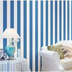 2016 10m Non-woven Stripe Flocking Surface Wallpaper TV Background Wall Paper