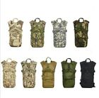 Camo HYDRATION BACKPACK Bag Pack Hiking Camping Daypack Military Tactical pouch