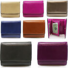 WOMEN'S FAUX LEATHER BOXED PURSES CELEB STYLE DESIGNER WALLET COIN PURSE