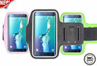 Samsung Galaxy S7 Edge Adjustable Reflective Armband Sports Fitness Jogging Case
