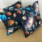 "18"" (45cm) Astronauts & Planets Cushion Cover Decorative Pillow. Made Australia"