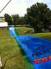 250' or 82' Redneck / Farmer's Speed Water Yard Slide LONGEST SLIP N SLIDE EVER!