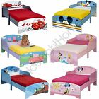 CHARACTER TODDLER BEDS WITHOUT STORAGE DISNEY CARS, PEPPA, THOMAS + MORE!