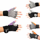 WEIGHT LIFTING GLOVES FITNESS TRAINING BODY BUILDING GYM STRAPS Workout Wrap