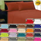 1800 Thread Count 4 Piece Bed Sheet Set All Sizes FREE SHIPPING