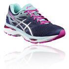 Asics Gel-Cumulus 18 Womens Pink Black Cushioned Running Shoes Trainers