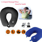 U-shaped Masasge Soft Cozy Pillow Support Neck  for Travel Office Car Rest Sleep