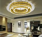 Modern 2Roundness Luxury Crystal Ceiling Pendant Lamp lighting Suspended D93