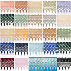 """7.5"""" 21 Colors Olive Lilac Sage Blue Rayon Vintage Guipure Venice Lace by Yard"""