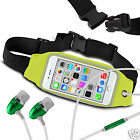 Forn HTC One X+ Running Fitness Sports Waistband Case & Handsfree