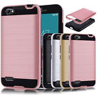 Hybrid Armor Shockproof Matte Hard Case Cover Protector for ZTE Blade A460 A-460