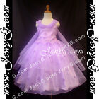 #PBP8 Girls Wedding Holiday Birthday Pageant Party Graduation Prom Dress Gown