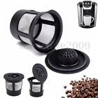Reusable Single Cup For Keurig Solo Filter Pod K-Cup Coffee Stainless Mesh Black