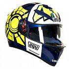 AGV K3 SV Rossi Winter Test Replica Motorcycle Motorbike Scooter Road Helmet