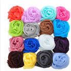 Expected Candy Color Girl  Long Soft Silk Chiffon Scarf Wrap Shawl Scarve EW