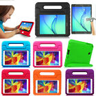 Kids Safe Shockproof Stand Case Cover + Tempered Glass Film For Samsung Tablet