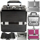 Extra Large Storage Aluminium Vanity Case Make Up Cosmetic Jewelry Beauty Box HQ