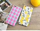 Cute Floral Fruit IMD Soft TPU Back Case Phone Skin Cover For iPhone 6 6s Plus