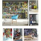 MARVEL COMICS AND AVENGERS WALLPAPER WALL MURALS DÉCOR BEDROOM