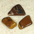 Tiger's Eye Tumble Polished Crystal Stone, 1 pc, Sizes 1.75 to 2 Inch, TS613