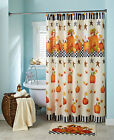 Pumpkin & Stars Bathroom Collection Fall Harvest Leaves Orange Themed Decor New