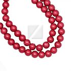 3/4/6/8/10/12/14mm Loose Beads Round Glass Pearl Fit Charms Braclet 30 Colors