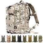 25L Hiking Camping Bag Trekking Rucksack Army Military Backpack Outdoor Bag