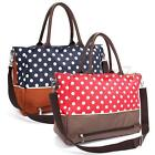 UK 6PCS Baby Changing Bag Diaper Nappy Shoulder Bag Tote  Handbag Satchel New