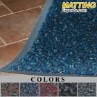"""Entrance Runner Water Absorbing Carpet-like Colorful Top Suface Mat 3/8"""" 110"""