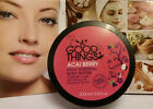 GOOD THINGS ACAI BERRY Daily Essential Body Butter 200ML ~Coconut Oil ,Raspberry