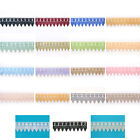 """2.5"""" Green Red Blue Pink Gold Black White Venice Guipure Lace Trim By Yardage"""