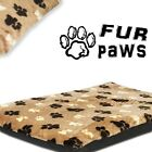 FAUX PAWS - MAT ANIMAL. Long-Haired Pet Bed. Nice Design Dog & Cat Mats. 3 Color