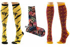 Harry Potter Adult Size Cosplay Knee High Socks Collage Logo - New & Official