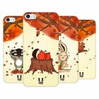 HEAD CASE DESIGNS AUTUMN CRITTERS HARD BACK CASE FOR APPLE iPHONE 5 5S SE