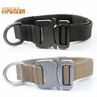 1 Inch Nylon Military Tactical Training Dog Collar With Metal Buckle Adjustable