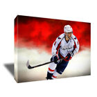 ALEX OVECHKIN Washington Capitals Poster Photo Painting on CANVAS Wall Art Print $36.0 USD on eBay