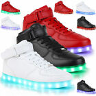 Unisex LED Light Lace Up Unisex Sportswear Sneaker Luminous Shoes Casual Fashion