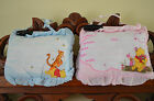 1 Disney Baby Winnie The Pooh Blue/Pink Birth Announcement Pillow Boy/Girl w/pen