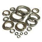 Spring Washers A2 Stainless - Square Section M2 M2.5 M3 M4 M5 M6 M8 M10 M12 M16