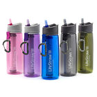 LifeStraw Go Bottle - New Advanced 2-Stage Water Purification Filtration GOV2