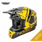 Fly Racing 2016 Adults Kinetic Pro Rockstar MX Motocross Enduro Off Road Helmet